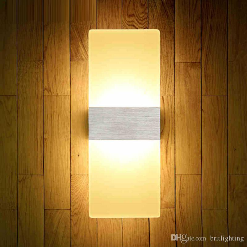 Modern minimalist living room wall lamp LED lamp bedside bedroom balcony staircase aisle wall lamp European Restaurant wall light