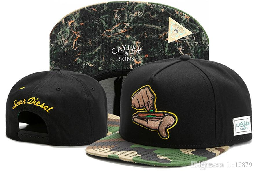e77e34a79 2017 new fashion Cayler & Sons camo baseball caps snapback hats for  men/women brand sports hip hop flat sun hat bone gorras cheap