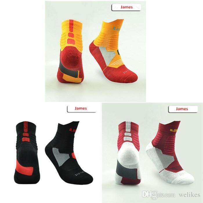 USA Professional Elite Basketball Socks Men Fashion Compression Thermal Winter Socks Long Knee Athletic Sport Socks
