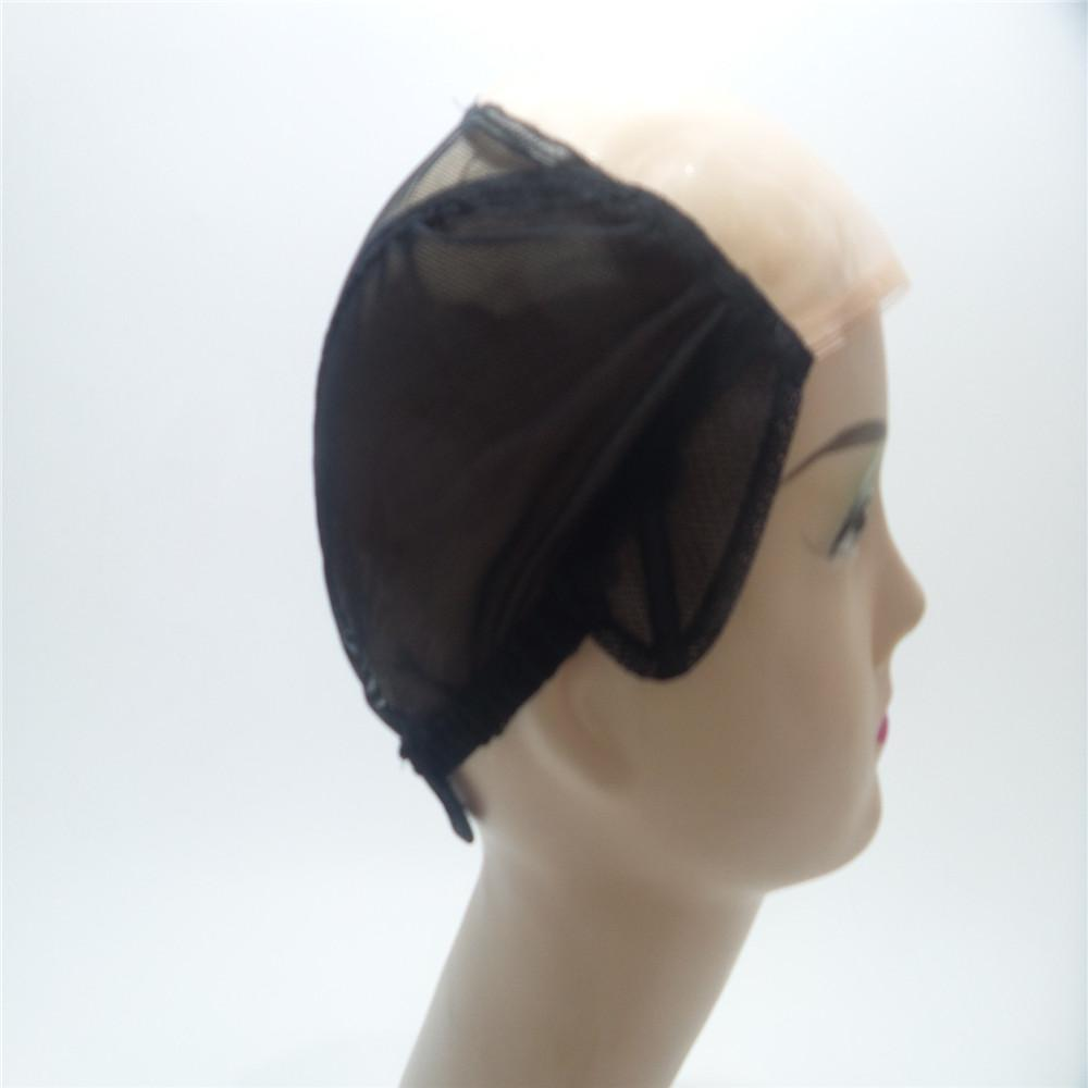 wig cap skin High Quality Mono Net Wig Caps For Making Wigs Adjustable Weaving Cap with Adjustable Strap and Front Ultra Skin System Edge