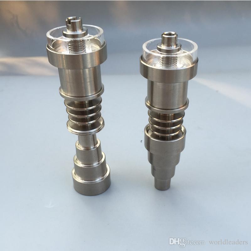 쿼츠 못 e 석영 잡종 티타늄 못 합동 10mm 14 / 14.5mm 18.8 / 19mm 여성과 남성은 10mm 16mm 18mm 20mm 적합하다