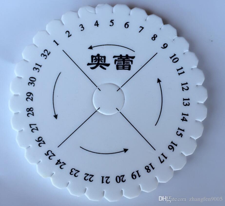 Round square plate series is hand braided rope bracelet wire rope handmade DIY materials and tools jade kumihimo disc