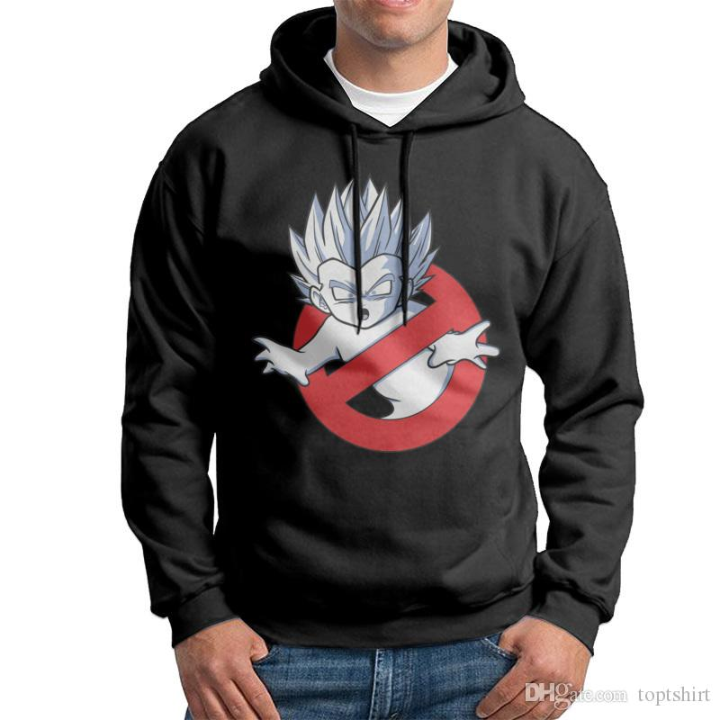 Popular Mens 100% Cotton Hoodies O Neck DRAGON BUSTERS Men Black ...