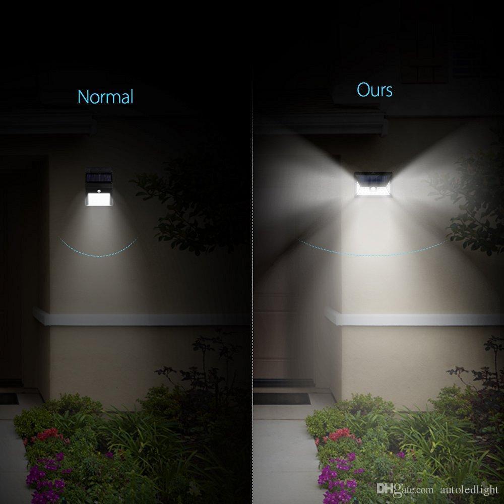 Big 24 LED Solar led motion Power Lights Waterproof Wide Angle Solar Lights Outdoor Garden Solar Motion Security Lighting Lighting