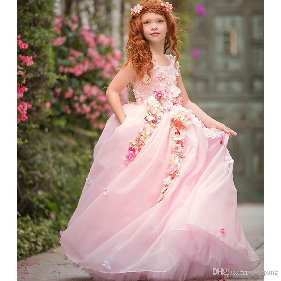 Compre Vestidos Del Verano De La Fiesta De Los Pequeños Bebés Lindos ...