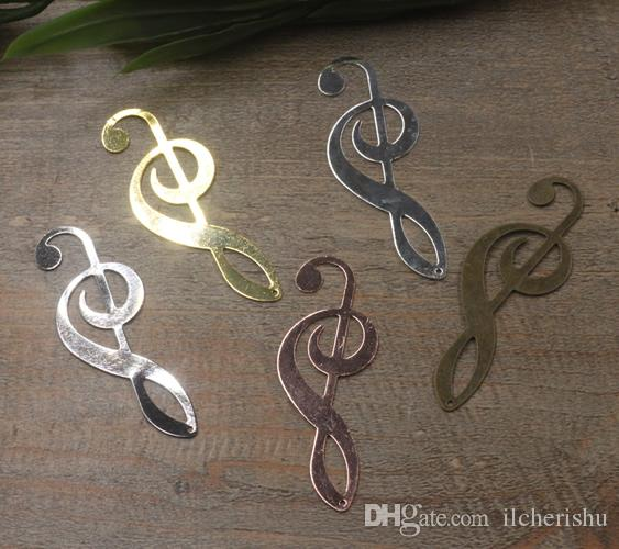 07553 19*53mm antique bronze/silver/rose gold/gun black musical symbol charms for jewelry making, vintage music note metal necklace pendants