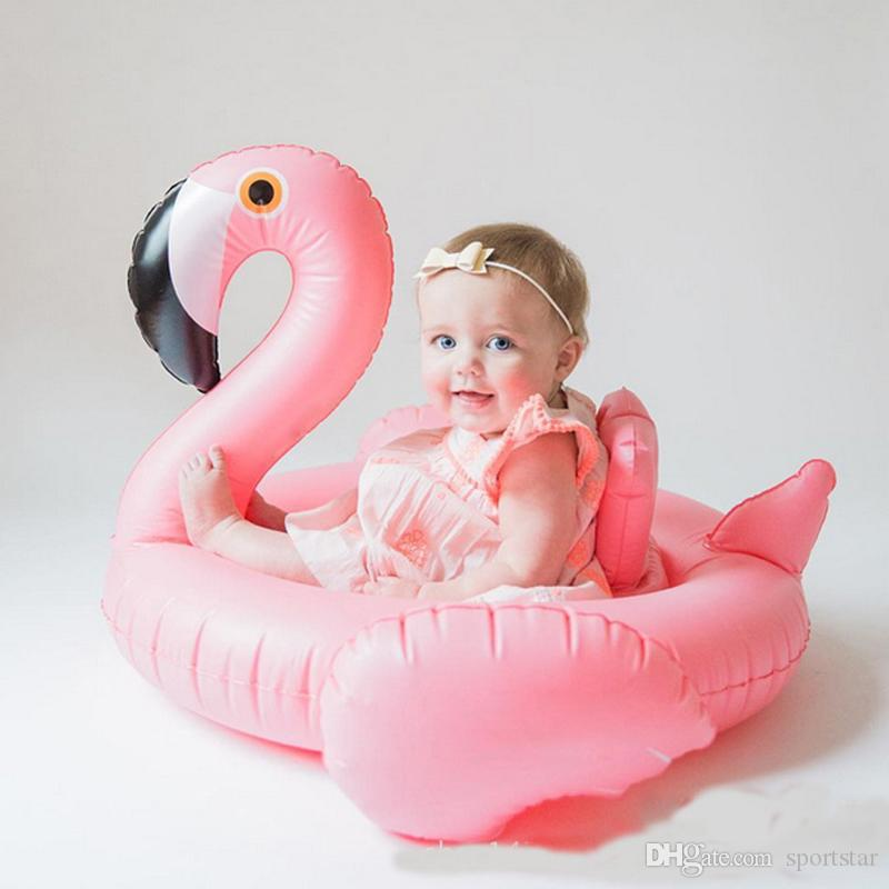 Best Quality Baby Swimming Ring Dount Seat Inflatable Flamingo Swan ...