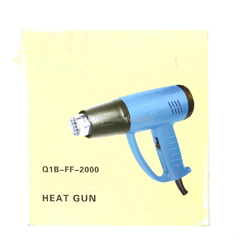 Sıcak satış Ücretsiz kargo yüksek kalite toptan fiyat Ayarlanabilir sıcaklık Isı tabancası 220 V sıcak hava tabancası 50 ~ 400 derece
