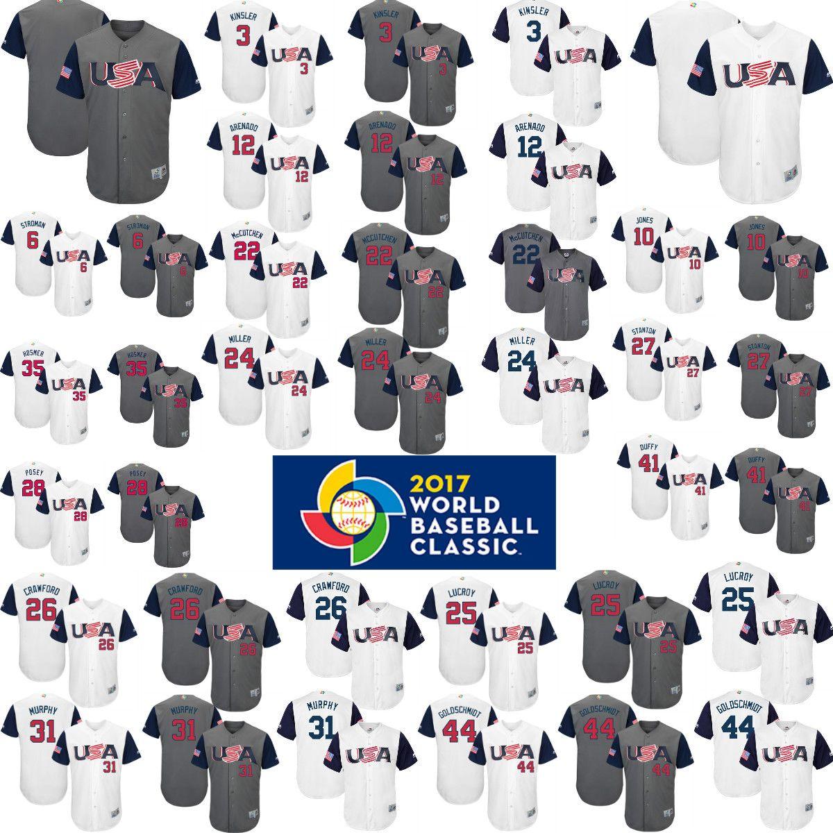 f510013beb0 ... 35 Eric Hosmer 22 Andrew McCutchen Jersey 2017 2017 USA World Baseball  Classic Jerseys 10 Adam Jones 12 Nolan Arenado 27 Giancarlo Stanton 28 ...