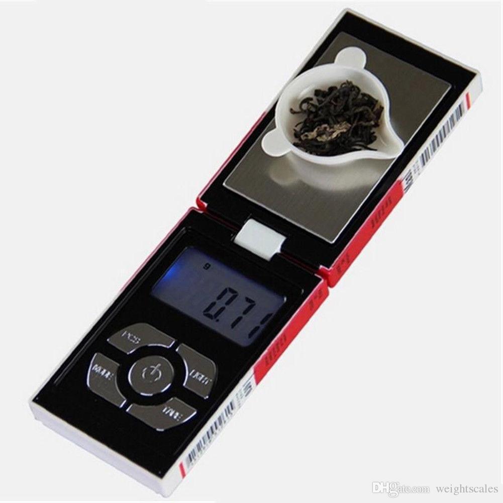 100g x 0.01g Schmuck Tasche Digital Skalen Mini LCD Zigarettenetui Tasche Schmuck Gold Diamant Skala 0,01 Gramm 100 200 500g