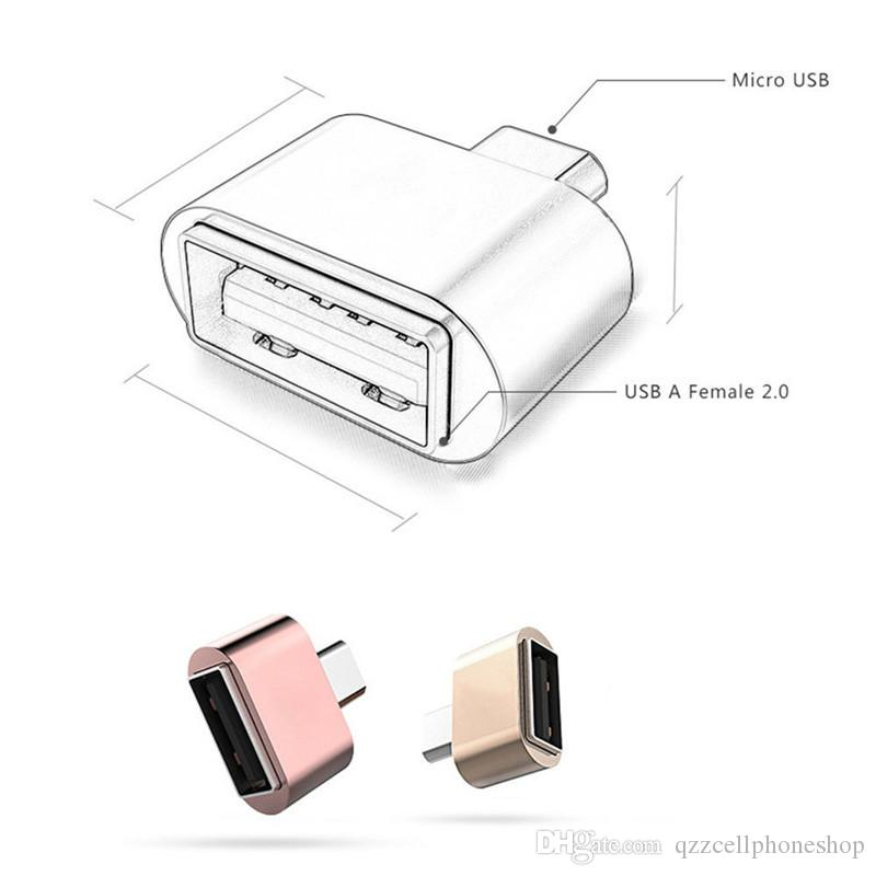 Mini Micro USB To USB OTG Adapter Camera MP3 Converter OTG Cable For Samsung Xiaomi HTC Sony LG Android Micro USB OTG