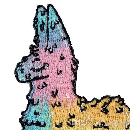 Distintivo preferito dei bambini del ferro ricamato animale sveglio all'ingrosso ricamato emblema accessorio del ricamo di applique di DIY sull'emblema Trasporto libero