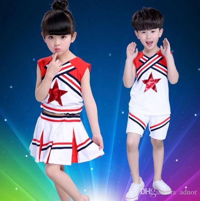 2018 Children Girl School Uniforms Set Kid Girls Student Jazz Costumes Suit Girl Cheerleader Suits Girl Cheerleading Costumes For Girls From Adnor ...  sc 1 st  DHgate.com & 2018 Children Girl School Uniforms Set Kid Girls Student Jazz ...