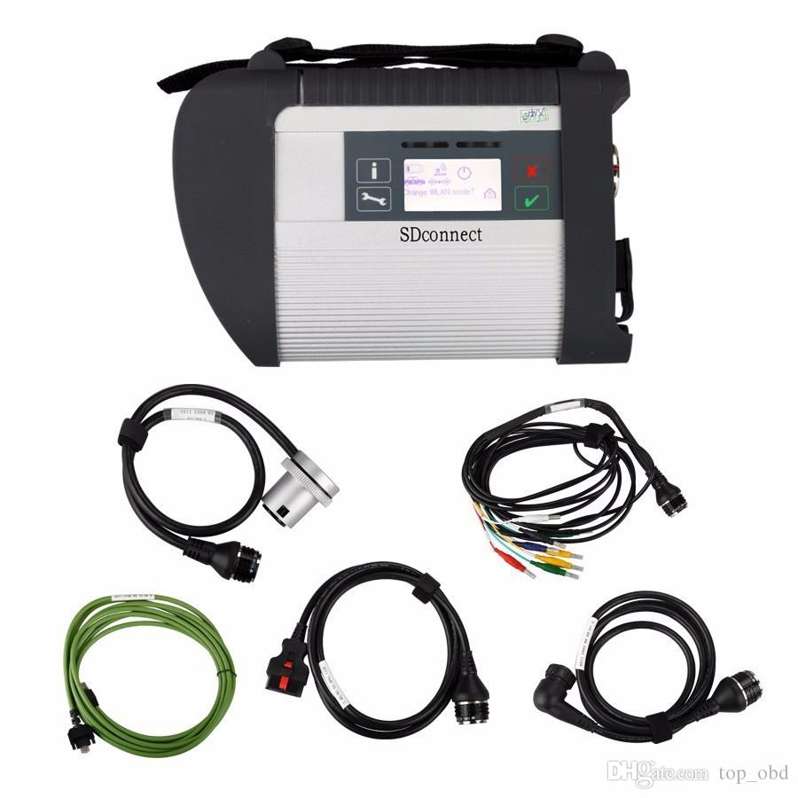 full chip mb star c4 sd connect compact 4 diagnostic tool with