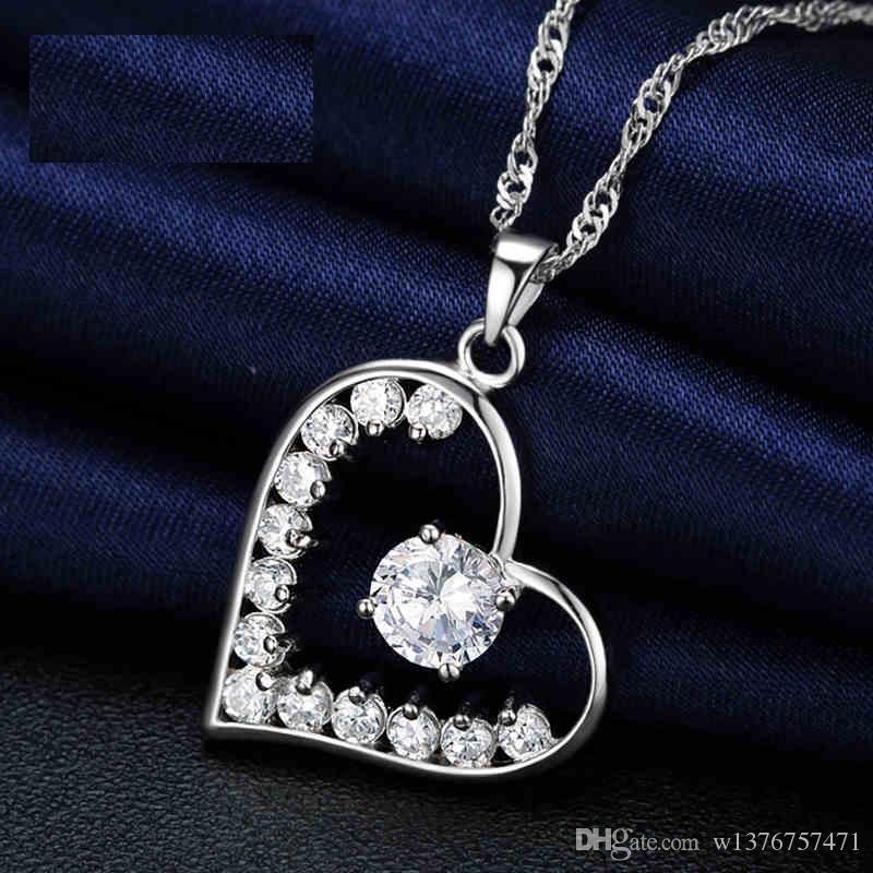 Großhandel Silber Qian Huiyin Halskette Weiblich, Korea Mode ...
