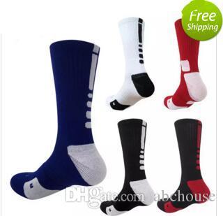 0f821546ff7 USA Professional Elite Basketball Socks Long Knee Athletic Sport Socks Men  Fashion Compression Thermal Winter Socks Basketball Socks Long Knee Athletic  ...