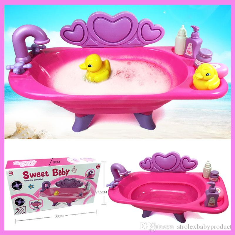 2018 Baby Playing Water Bath Tub Toys Children\'S Kids Pretend Play ...