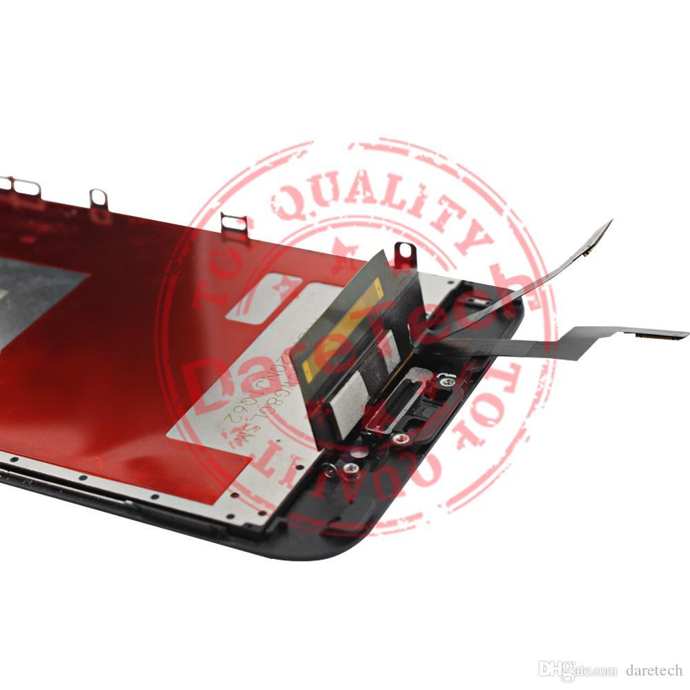 Assemblea completa del convertitore analogico / digitale LCD dell'esposizione del touch screen LCD bianco le parti di riparazione dell'affissione a cristalli liquidi dell'affissione a cristalli liquidi di iPhone 6s trasporto libero