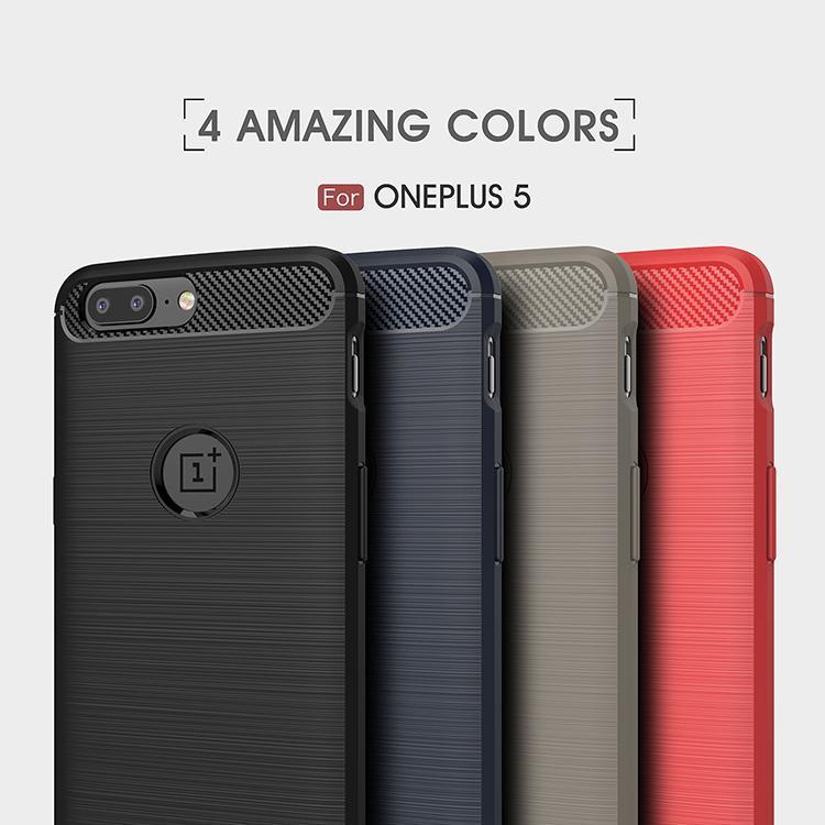 OnePlus 7T Pro 7 Pro / OnePlus 6 6T 5 5Т чехол из углеродного волокна Мягкий гель ТПУ кожи Назад кремния OnePlus 8 Pro телефон Обложка