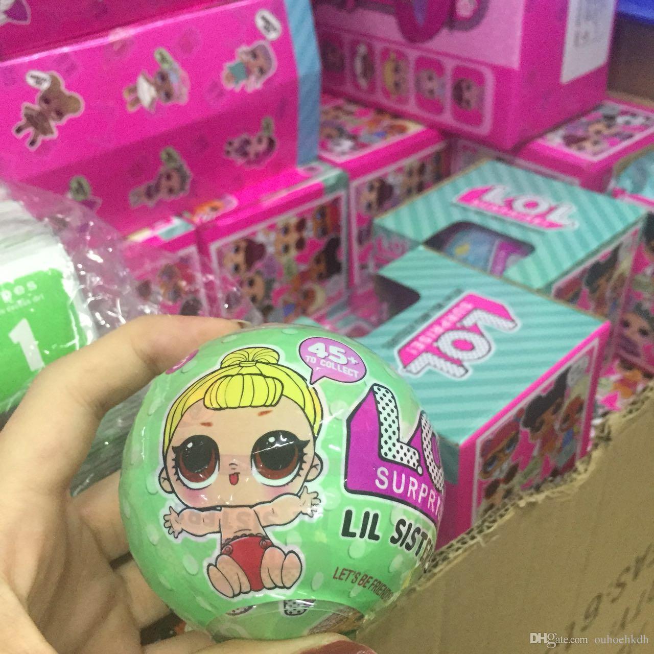 L O L Little Surprise Dolls Series 2 Lil Sisters Ball L O L