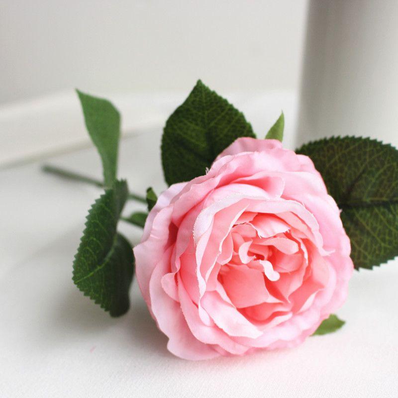 Düğün için yapay çiçekler yapay çiçek düğün buket güller dahlias güz canlı sahte yaprak düğün çiçek gelin buketleri dekorasyon