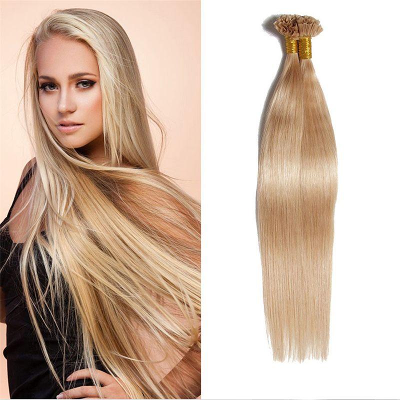 1618 20 22 26 50g U Tip Nail Tip Hair Extensions Brazilian Human