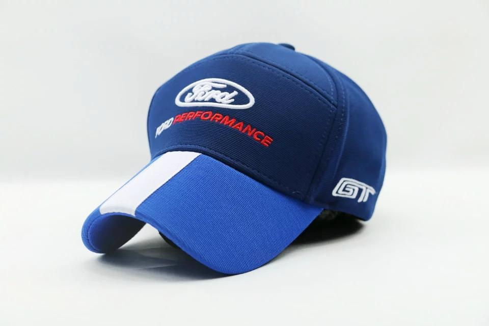 Wholesale Men Women Blue Ford Baseball Hat Cap F1 Car Logo Motorcycle MOTO  GP Racing Team Hat Cap Cool Caps Flat Brim Hats From Hoganr b521df2f612