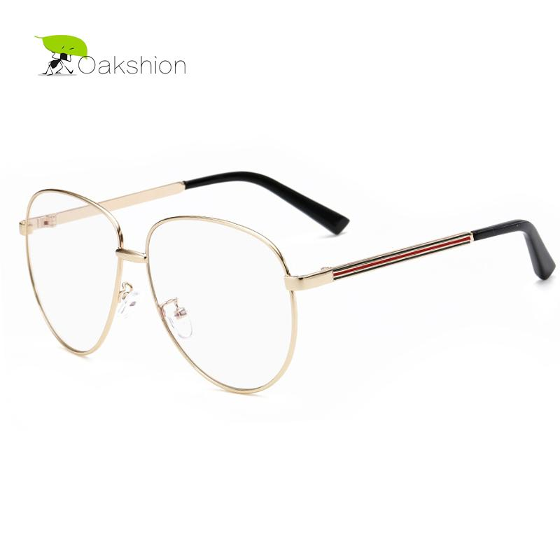 Wholesale- Aviator Clear Glasses Women Spectacles Frame Vintage Men ...