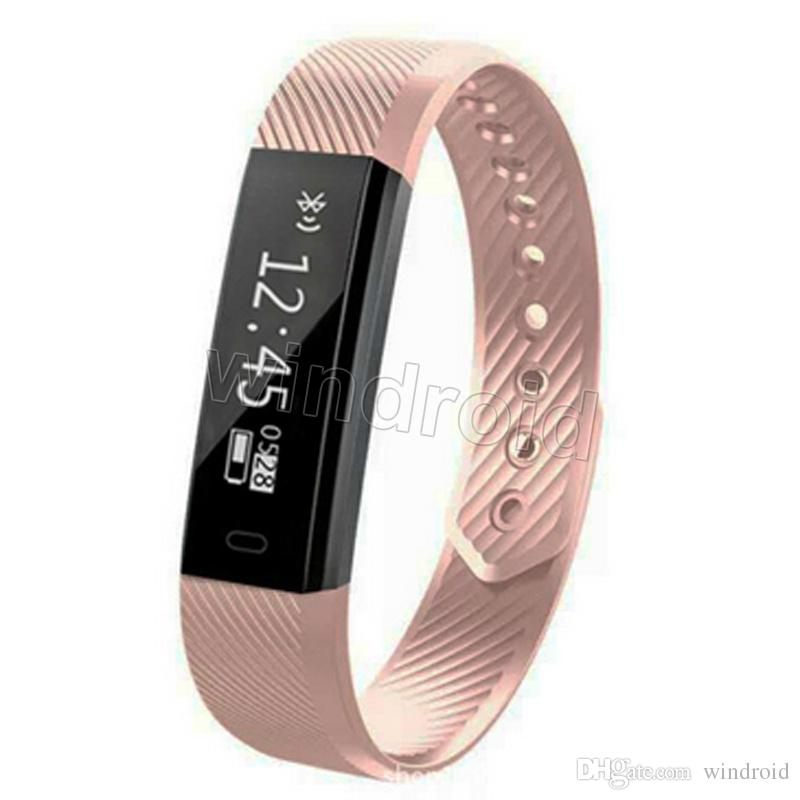 S115 HR S 115 HR Sport Smart Band Smartband Braccialetto Wristband Wristband Monitor Fitnesst Tracker Bluetooth Smartwatch IOS Android