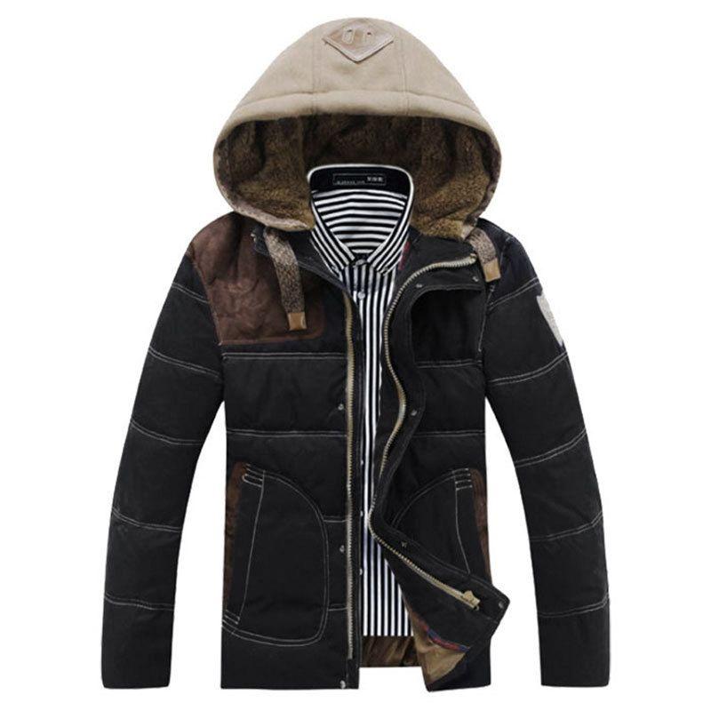2017 2016 Fall/Winter Fashion Coats Men Duck Down Feather Parkas ...