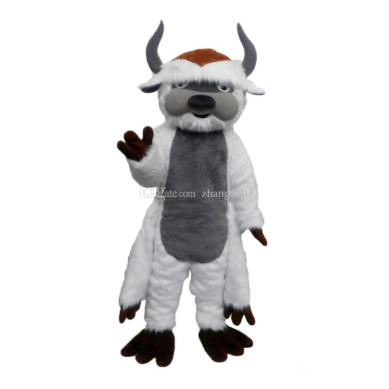 Bovins, taureau, costume de mascotte de vache Cartoon Real Photo haute qualité