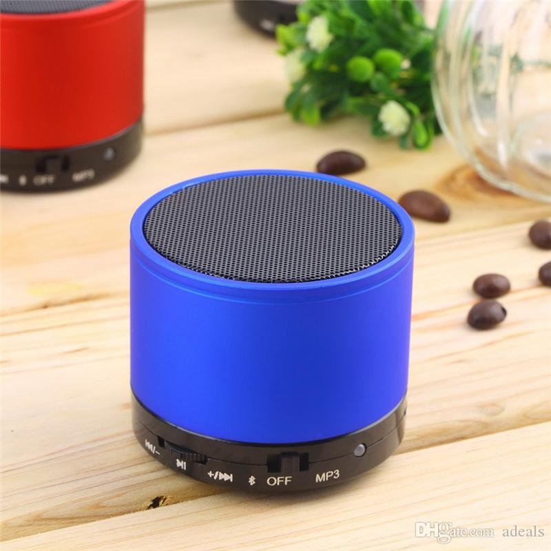Orignial Wireless Bluetooth computer Outdoor Sound Box portable audio player Mini button Mp3 Speaker for Mobile Phone Mp3 Mp4 Tablet