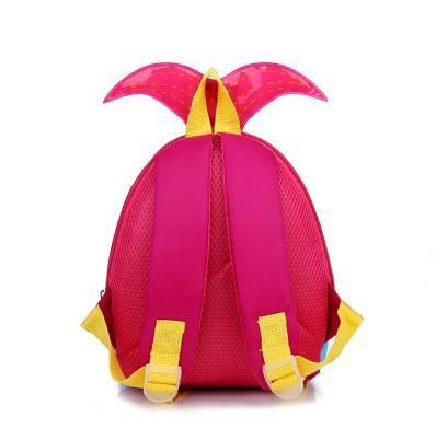 wholesale Kids Bags 2017 New Fashion Cute Waterproof Children Backpacks Cartoon Mermaid School Bags for Kindergarten Girls Baby Bag