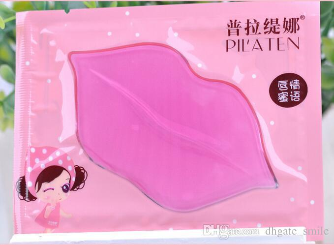 the newest PILATEN Authorized Collagen Crystal Lips Mask Moisturizing Anti-Aging Anti-Wrinkle Lip Care dilute the lip