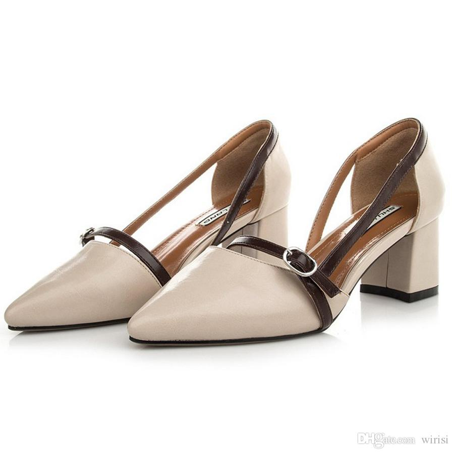 3bef5e7dfefe Cheap Heels Online Discount Womens Sandals Order Ladies High Heels Pumps  Purchase Designer Pu Office Career Shoes Female Branded Outlet Shoe Pumps  Shoes ...