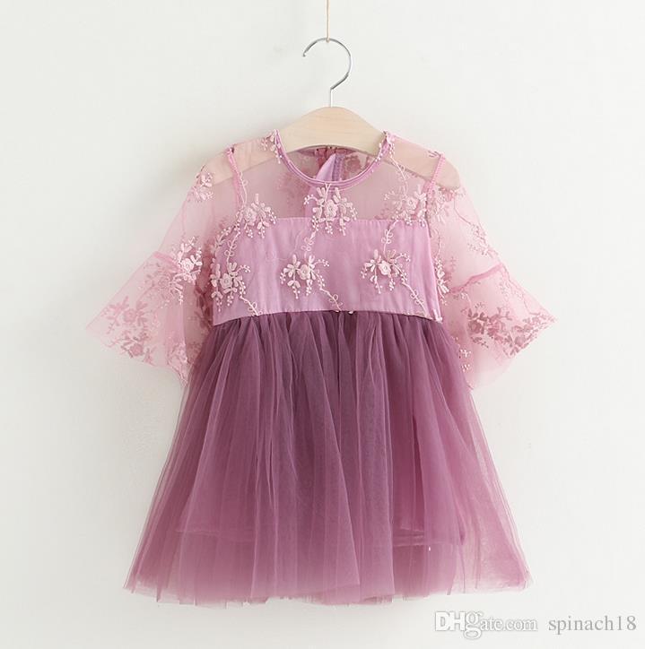 Compre 2017 Vestido De Fiesta De Tauro De Tulle Del Algodón Del ...