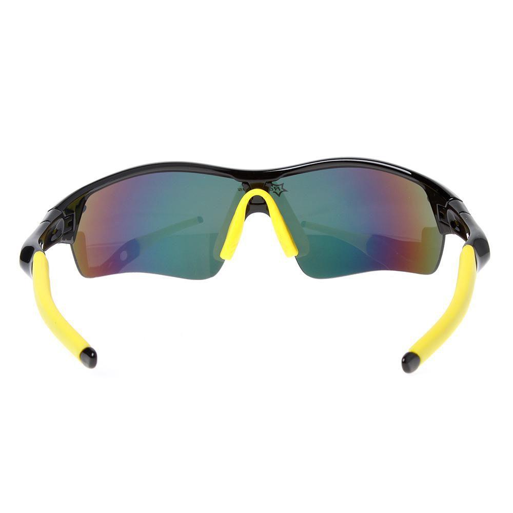 Compre RockBros Polarized Ciclismo Óculos De Sol Ao Ar Livre Sports Bicicleta  Óculos Óculos De Sol Da Bicicleta TR90 Óculos De Proteção Eyewear 5 Lente  ... 54d623038c