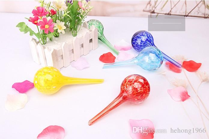 5mz Green Potted Plants Glass Plant Watering Bulbs Set Automatic Ball Water Globes Device Flowers Drip Garden Waterings Tools Colorful KK