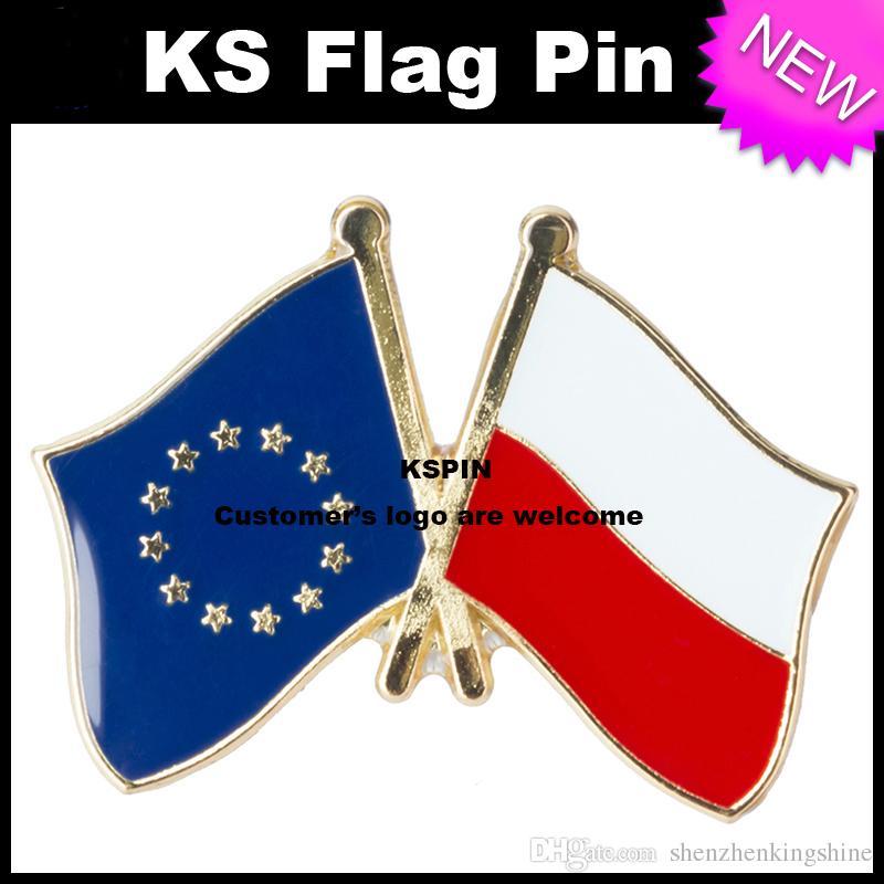 Il perno della bandiera del distintivo della bandiera di amicizia della Siria degli Stati Uniti un sacco Trasporto libero XY0003