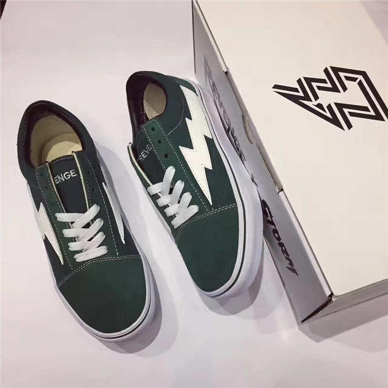 2018 Calabasas Stylist Ian Connors Revenge X Storm Sneakers Kanye West Calabasas Casual Shoe Men Women Vanse Green Running Shoes outlet discount authentic get authentic cheap price wN3fBCq