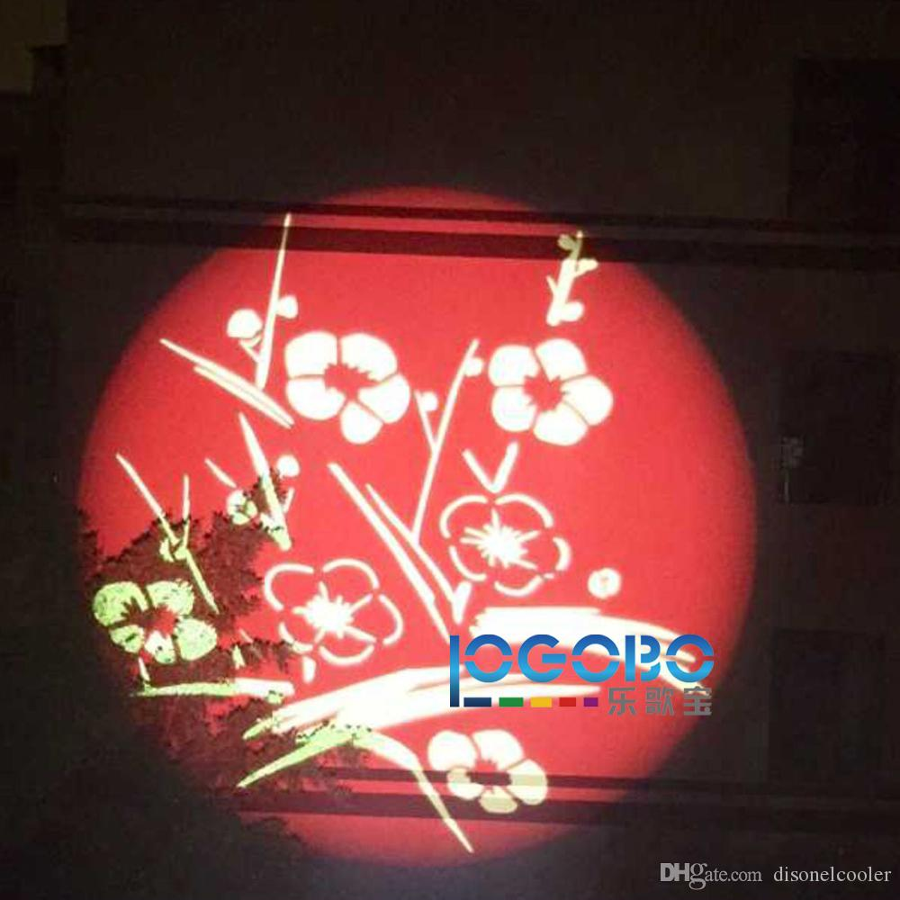 Powerful 100W Led Gobo Projector 7900 Lumen Outdoor Company Logo Hotel Advertising Signs Lighting Projection Distance to 80m Waterproof IP65