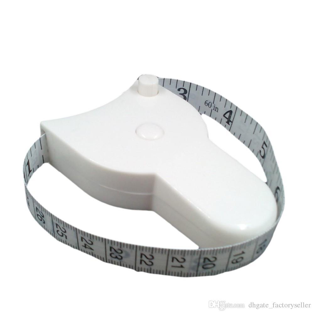 Il nuovo trasporto libero arriva / lotto bianco accurato di misura di misurazione del calibro di forma fisica del peso della vita del corpo