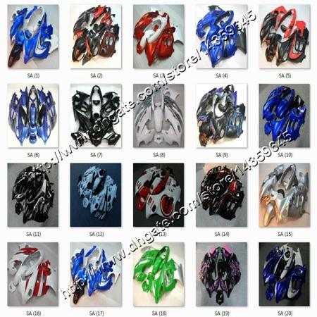 8Gifts+ Katana GSX600F 2003 2004 2005 2006 GSX750F REPSOL for Suzuki motor fairing