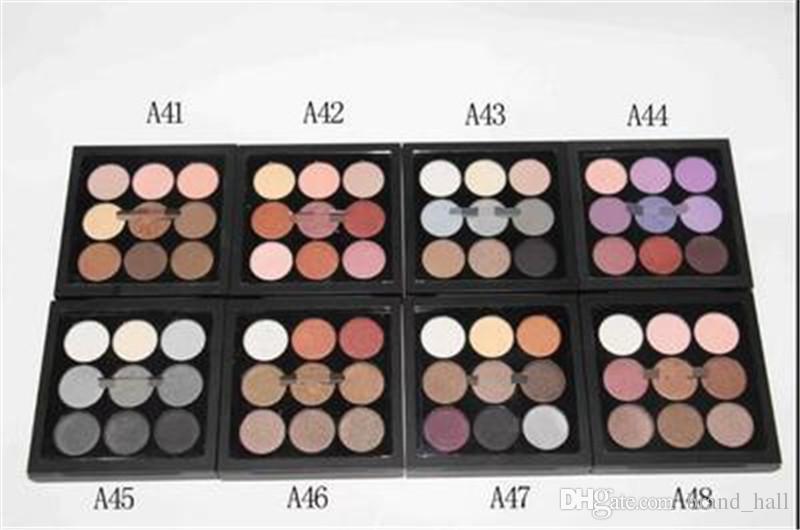 ¡envío de DHL! M Makeup Brand Eyeshadow Palette Maquillaje Nude con logo paleta desnuda paletas de maquillaje