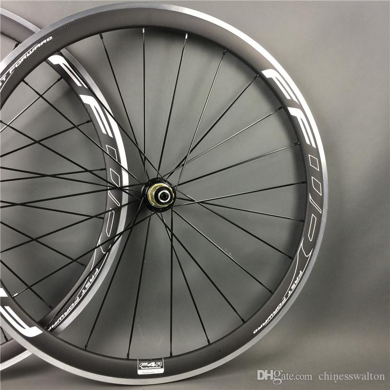 38MM FFWD fast forward alloy brake surface full carbon road bike wheels wheelset bicycle wheelset lightest R36 hubs