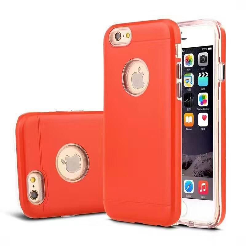 Ultra delgado 3 en 1 contraportada a prueba de golpes Funda de la armadura esmerilada de color oro rosa de lujo para iphone 7 6 plus samsung s7 s7edge