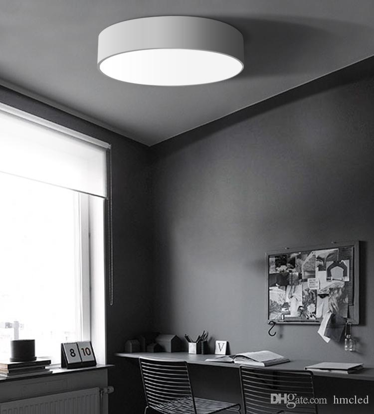 2018 Round Modern Led Ceiling Lights Home Lighting Light Fixtures Simple Bedroom  Lamp Dining Room Ceiling Lamp From Hmcled, $37.73   Dhgate.Com