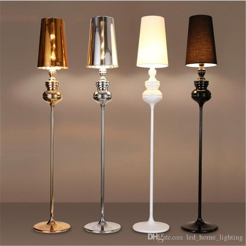 2018 modern spanish guardian floor lamp new classical bedroom living room standing lamp fashion study hotel gold led floor lamp from sallystore - Standing Lamp Living Room