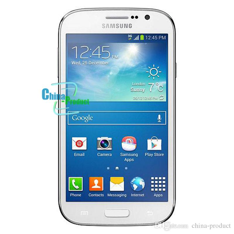 Refurbished Samsung Galaxy Grand Duos i9082 Front&Back Camera 5.0 inch Smartphone 1GB RAM 8GB ROM Dual SIM WCDMA 3G Unlocked Cellphone