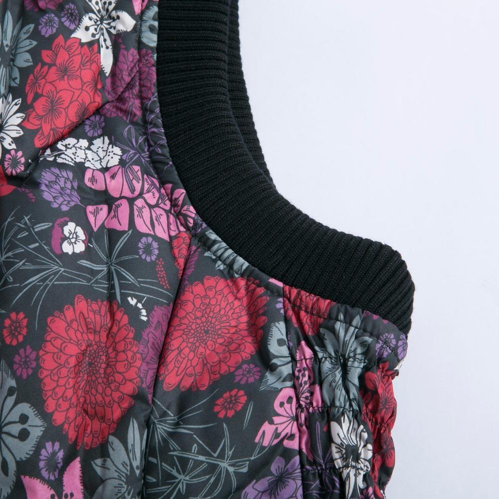 BOSIDENG women vest 90% down waistcoat down waistcoat flowers sleeveless clearance sale spring vest B1501606B B1501602